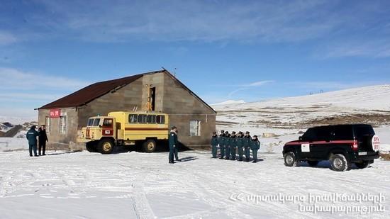 Դեկտեմբերի 29-ից ՀՀ արտակարգ իրավիճակների նախարարության փրկարար ծառայությունն աշխատելու է ուժեղացված ռեժիմով
