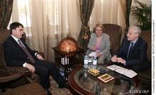 Deputy Prime Minister Received the UNIDO Armenian Representatives