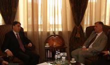 Deputy Prime Minister Received the Head of the EU Delegation, Ambassador Raul de Luzenberger