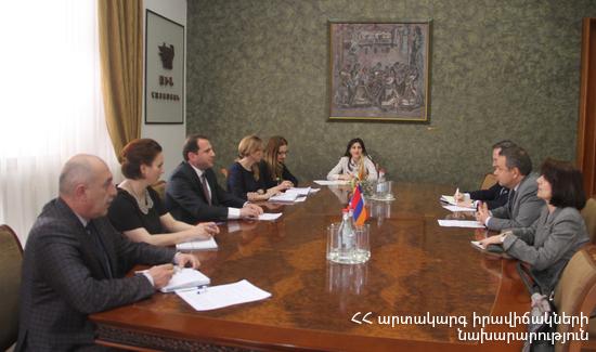 Армения и Франция расширяют сотрудничество в сфере предупреждения чрезвычайных ситуаций