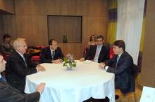 Ա. Գեւորգյանը հանդիպեց ուկրաինացի գործընկերոջ հետ
