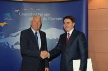 А. Геворкян и Т. Ягланд обсудили вопросы сотрудничества Армения-СЕ