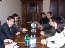 Вице-премьер-министр принял делегацию румынских мэров