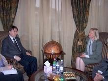 Вице-премьер-министр РА принял представителя армянского офиса Детского фонда ООН