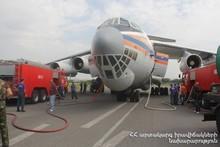 «ԻԼ-76» հատուկ նշանակության ինքնաթիռը շարունակում է հետմարման աշխատանքները (լրացված)