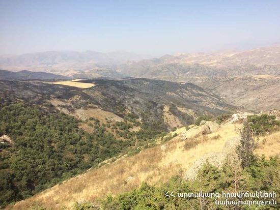 Эксперт: Пожар в заповеднике «Хосровский лес» выявил невысокий уровень подготовленности общественности Армении к чрезвычайным ситуациям