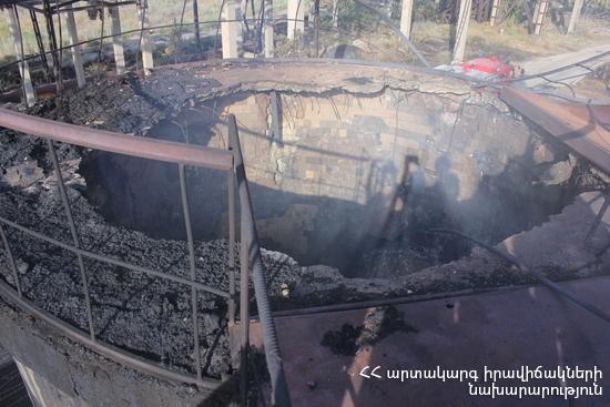 Пожар на химзаводе «Наирит» в Ереване: очагов огня нет, но высокий температурный фон сохраняется