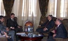 Вице-премьер-министр принял посла США в Арменни и директора армянского офиса КВТ