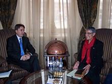 Вице-премьер-министр РА принял руководителя ереванского офиса АМР США