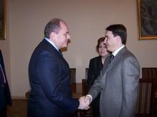 Вице-премьер-министр принял министра культуры Украины