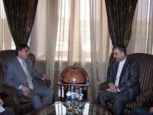 А. Геворкян принял посла Ирана