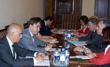 Армен Геворкян принял делегацию Агентства по иммиграции и интеграции Франции