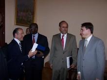 Вице-премьер-министр РА принял делегацию Всемирного банка