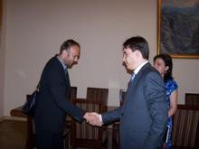 А. Геворкян принял делегацию Всемирного банка