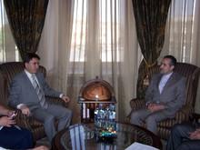 Вице-премьер-министр РА принял новоназначенного посла Исламской Республики Иран