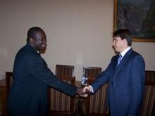 Вице-премьер-министр РА принял делегацию ВБ