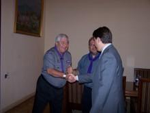 Вице-премьер-министр РА принял генерального секретаря Всемирного скаутского движения