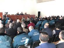 ՀՀ ԱԻՆ Գեղարքունիքի մարզային ստորաբաժանումներն ամփոփեցին 2017 թ. կատարած աշխատանքները