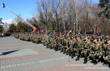 Ministry of Emergency Situations has taken part in Young Yerkrapahs' Swearing-in Ceremony