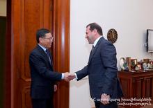 Министерство по ЧС РА будет сотрудничать с недавно созданным Министерством управления по ЧС Китая