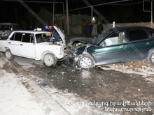 ДТП в городе Абовян: есть пострадавший