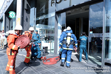 """Firefighting Training Exercise on Topic """"Fireproof Yerevan"""" was Conducted at """"SAS"""" Catering and Shopping Centers"""