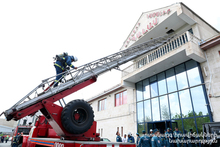 """Firefighting Training Exercise at """"Palace"""" Trade Complex"""