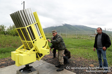 The First Testing of Anti-hail Rockets was carried out in Aragatsotn Marz