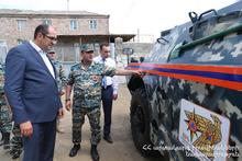 Первый рабочий визит Министра по ЧС в пограничные области: были обнаружены недостатки, даны задания