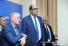 Министр по ЧС Грачья Ростомян посетил Российско-армянский центр гуманитарного реагирования с рабочим визитом