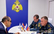 Министерства по ЧС РФ и РА укрепляют сотрудничество
