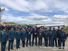 Стартовал салон «Комплексная безопасность 2018». Армянские спасатели участвуют в международных учениях