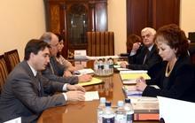 Вице-премьер-министр принял докладчиков по Армении на Конгрессе Совета Европы