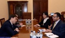 Вице-премьер-министр принял делегацию Всемирного банка