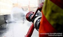 Fire in Gyumri: constructions burnt