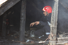 Fire in Lusakunk Village: there were no casualties