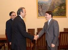 Փոխվարչապետն ընդունեց եգիպտացի գործարարների պատվիրակությանը