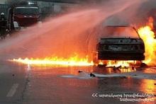 Автомобиль полностью сгорел: пострадавших нет