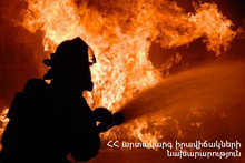 Fire on Isakov Avenue: there were casualties