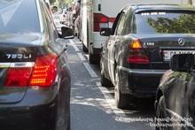 Cars had collided on Myasnikyan Avenue
