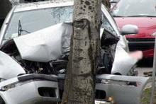 Ավտոմեքենան բախվել է ծառին. տուժածներ չկան