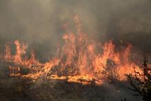 Կիրանց գյուղին հարակից տարածքում այրվում է խոտածածկույթ. փրկարարները դեպքի վայրում են