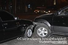 ՃՏՊ Բաղրամյան պողոտայի և Պռոշյան փողոցի խաչմերուկում. կա տուժած