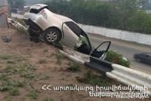 ДТП на автодороге Ернджатап-Бужакан: пострадавших нет