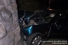RTA on Yerevan-Sevan roadway: the driver died on the spot