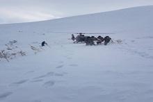 Լեռնագնացը մնացել է ձյան զանգվածի տակ (լրացված)