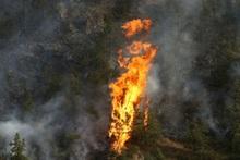 Լեռնահովիտ գյուղում այրվում է խոտածածկ տարածք (լրացված)