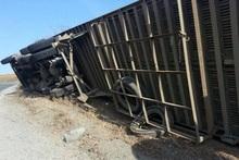 Վառելիք տեղափոխող բեռնատարը կողաշրջվել է. փրկարարները դեպքի վայրում են (լրացված)