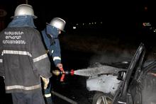 Այրվել է ավտոմեքենա. տուժածներ չկան