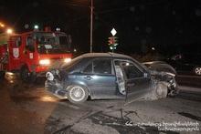 Ավտոմեքենան բախվել է արգելապատնեշին. կան տուժածներ